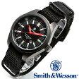 【クーポン対象外】 Smith & Wesson スミス&ウェッソン SWISS TRITIUM MILITARY H3 WATCH 腕時計 BLACK SWW-1864T《WIP》