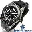 【クーポン対象外】 Smith & Wesson スミス&ウェッソン PARATROOPER WATCH 腕時計 BLACK SWW-5983《WIP》