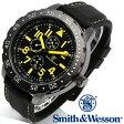 【クーポン対象外】 Smith & Wesson スミス&ウェッソン CALIBRATOR WATCH 腕時計 YELLOW/BLACK SWW-877-YW《WIP》