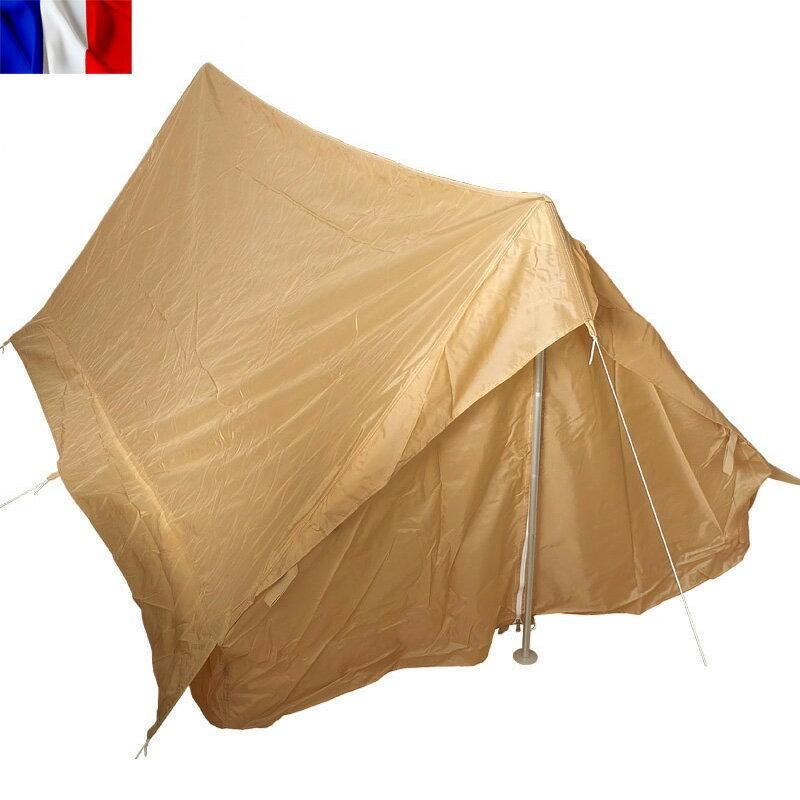 0e3bcdc628d5 F1テントセット2人用ベージュ今だけ20%OFF大特価!実物新品フランス軍F1