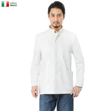 【20%OFFセール開催中】実物 新品 イタリア デッドストック ドレスジャケット ホワイト【キャッシュレス5%還元対象品】