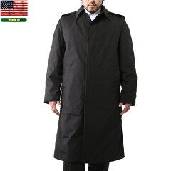 実物放出品 新品 米軍 ブラックステンカラーコート BLACK ブラック メンズ ミリタリー …