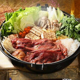 さくら鍋セット専用たれ付馬肉赤身スライス桜鍋桜なべすき焼きしゃぶしゃぶさくらなべさくら鍋薄切りうす切り薄切すきやき鍋なべ馬肉鍋