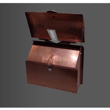 エイプロシリーズ 銅製メールボックス2型【SR1-DP-2K:鍵付き】