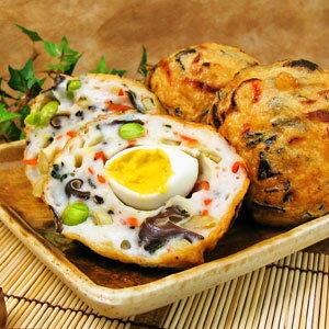飛竜頭(ひりょうず)とはがんもどきの事豆腐と魚のすり身をベースに、九種類(伊勢ひじき等)...