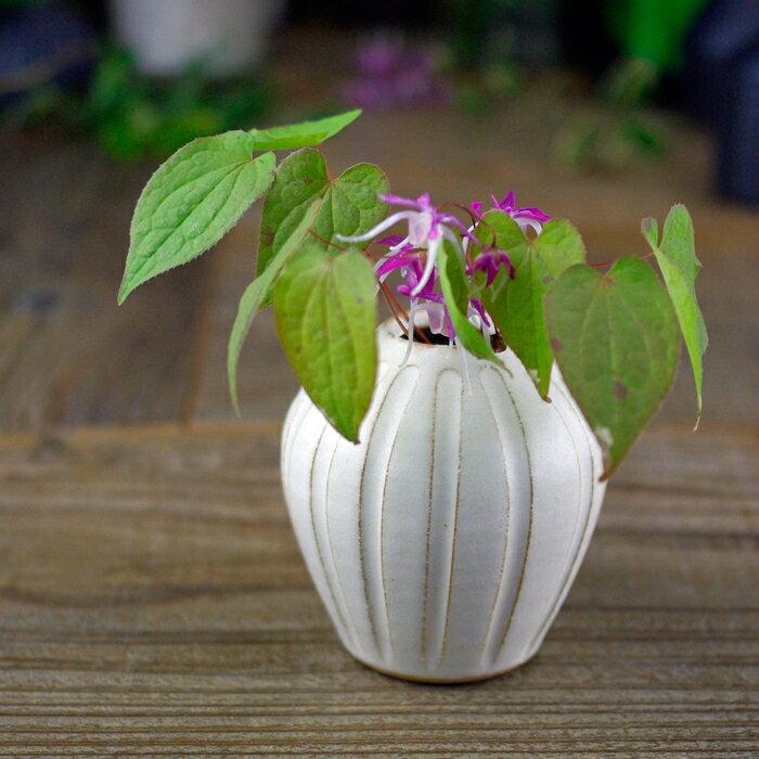 徳利型 一輪差し 益子焼 フラワーベース 陶器製 花器 花瓶 焼きもの おしゃれ わかさま陶芸 母の日 ギフト プレゼントお家カフェ
