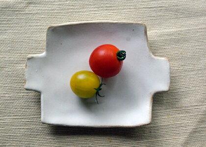 【母の日・名入れ】kinari小皿(ラウンド)北欧風の可愛い小皿豆皿小皿シンプル小皿醤油小皿小物を置いてもおしゃれな小皿【益子焼わかさま陶芸】