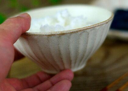 益子焼kinariご飯茶わん(小)飯碗めし碗お茶碗ライスボウルおしゃれかわいいナチュラルモダン名入れ電子レンジ・食洗機対応わかさま陶芸