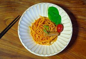 kinari朝顔鉢(中)一人分の中鉢。パスタやカレー、サラダボウルや煮物鉢、麺鉢盛り鉢にぴったり。スタッキングで簡単収納。やさしい色がナチュラル感を演出しています。送料無料。