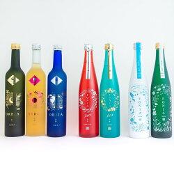 ワイン樽熟成日本酒ORBIA(オルビア)&ボタニカルSAKEFONIA(フォニア)7本セット