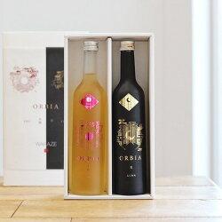 ワイン樽熟成日本酒~ORBIALUNASOL(オルビアルナソル)2本セットギフト箱入り