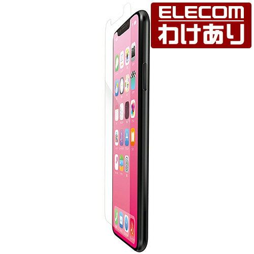 エレコム iPhone XR 液晶保護 フィルム 高光沢 iPhone 11 対応:PM-A18CFLTG【税込3300円以上で送料無料】[訳あり][ELECOM:エレコムわけありショップ][直営]