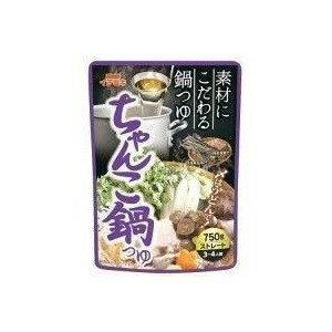 イチビキ ストレートちゃんこ鍋つゆ 750g 賞味期限2019.12.25