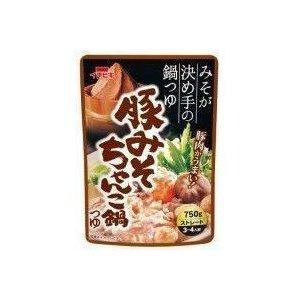 イチビキ ST豚みそちゃんこ鍋つゆ 750g 賞味期限2019.12.24