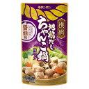 [送料無料][10個]横綱 地鶏だし ちゃんこ鍋用スープ 醤油味 750g 賞味期限2021.05.21以降
