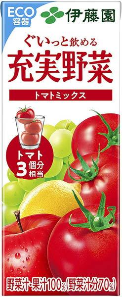 72本 伊藤園充実野菜トマトミックス200ml賞味期限2021.04.29 賞味期限間近