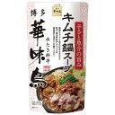 [送料無料][12個]博多華味鳥 キムチ鍋スープ 600g 賞味期限2021.01.17以降