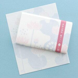懐紙:日本市 季節の懐紙 蓮づくし 30枚入り