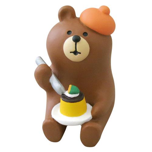 コレクション, フィギュア concombre (ZHW-92539) Bear figurine
