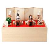 ここかしこ とのとひめ 親王飾り雛人形 江戸木目込人形 東京都の工芸品 Hina dolls