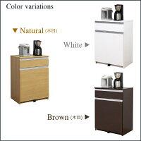 キッチン収納ダストボックス幅65cm【送料無料レビューでQuoカードget!!】ナチュラルホワイトブラウン全3色