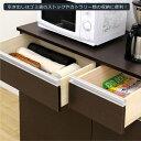 ダストボックス キッチンごみ箱 キッチンカウンター ダストカウンター 3分別 幅100cm 完成品 3