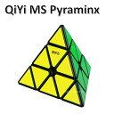 QiYi MS Pyraminx ブラック 磁石搭載 black Pyraminx ルービックキューブ おすすめ なめらか