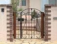 デザイン鋳物門扉