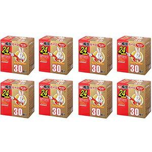 桐灰 カイロニューハンドウォーマーレギュラーサイズ 30個*8箱【エリア限定送料無料】