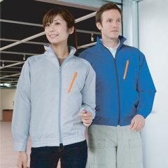 熱中症予防に!節電対策に!サンエス KU90510 空調服 長袖ブルゾン(服地のみ)