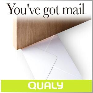 まるで手紙が届いたような、おしゃれなドアストッパー。裏面はレターホルダーとしても使えます...