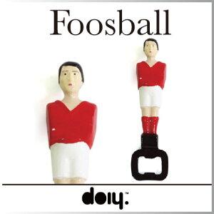 【 あす楽 】【 即納 】 栓抜き サッカー 人形 フーズボールボトルオープナー 【 doiy…