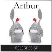 アーサーエッグカップ ペレグデザイン キッチン スタンド アーサー スプーン