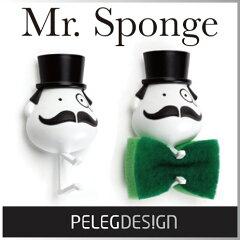 ( あす楽 ) Mr スポンジ スポンジホルダー 紳士 ジェントルマン スポンジ…