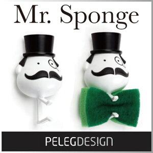 ( あす楽 ) Mr スポンジ スポンジホルダー 紳士 ジェントルマン スポンジ 【 Pele…
