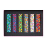 【 メール便 】 おもしろ 文房具 クレヨン カラフル ドットフラワーズクレヨン ドットミュゼクレヨン 【 AOZORA / あおぞら 】 Dot Flowers Crayon Dot Musee Crayon 色が混ざったような モザイク / WakuWaku