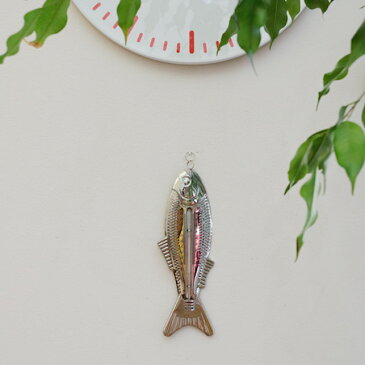 【 メール便 】 温度計 おしゃれ 壁掛け 魚 フィッシュサーモメーター 【 KIKKERLAND/キッカーランド 】Fish Thermometer インテリア かわいい 海外 サーモメーター 屋内 / WakuWaku