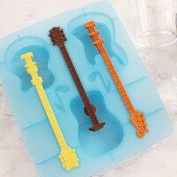【あす楽】【即納】おもしろ氷アイストレー製氷皿シリコンマドラーギターの形クールジャズ【FRED/フレッド】COOLJAZZIceTrayお菓子型製菓道具楽しい★文房具、デザイン雑貨のWakuWaku