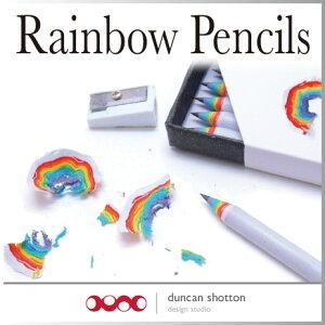 ( あす楽 ) おもしろ文具 鉛筆 ペンシル レインボーペンシル 虹 Rainbow Penc…