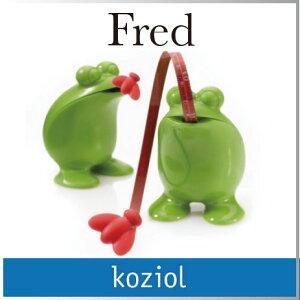 ドイツ を代表する雑貨ブランド、コジオルのメジャー。カエルの舌が、びよ~~~んと伸びるかわ...