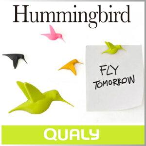 ( あす楽 ) 磁石 かわいい 強力 ハミングバード マグネット 【 QUALY / クオーリ…