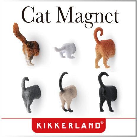 かわいくて個性的な6種の猫のマグネットセット。 ロッカーや冷蔵庫など、お好きな所にどうぞ! パッケージも素敵なので、猫好きな方へのプレゼントにも