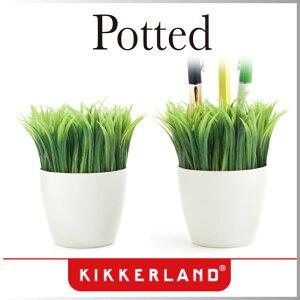 ( あす楽 )観葉植物 ペン立て ポテッドペンスタンド 【KIKKERLAND/キッカー ラン…