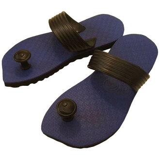 Eyes nail pickles! Design beach sandal Suwa me (Swamisz) unisex purple of Indian tradition & Australia