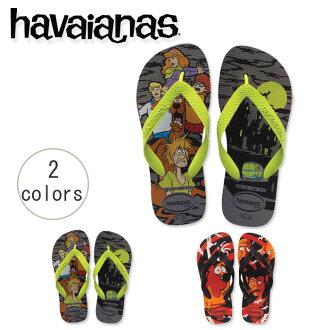 [夏威夷播音員]Beach sandal havaianas小孩·sukubidu(KIDS SCOOBY DOO)小孩小孩[明天輕鬆的對應]