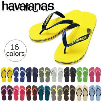 havaianas BRASIL LOGO The World's Best Rubber Flip Flops