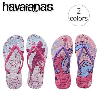 Beach sandal havaianas迪士尼小孩·surimuvioretta(KIDS SLIM VIOLETTA)小孩小孩