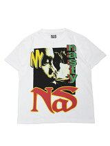 NASMERCHANDISEナズマーチャンダイズNASTYNAST-SHIRTS-WHITE-プリントTシャツグラフィック白/ホワイト