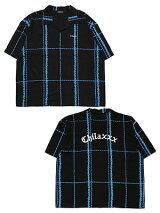 チラックスChilaxxxアロハシャツBERBEDWIREALOHASHIRT-BLACK-メンズレディースユニセックスM-XXLブラック