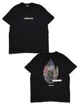 チラックスChilaxxxグラフィック半袖TシャツMULTISCARFMATCHT-SHIRT-BLACK-メンズM-XXLブラック